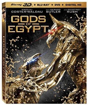 Gods of Egypt (2016) (Blu-ray 3D (+2D) + Blu-ray + DVD)