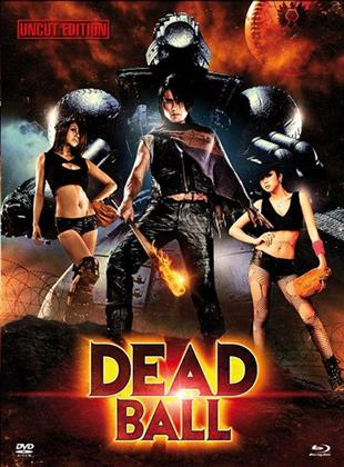 Deadball (2011) (Uncut Edition, Cover A, Mediabook, Blu-ray + DVD)