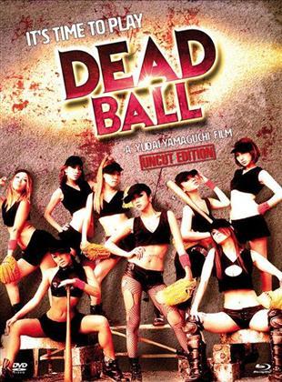 Deadball (2011) (Cover B, Uncut Edition, Limited Edition, Mediabook, Blu-ray + DVD)