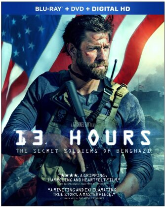13 Hours - The Secret Soldiers of Benghazi (2016) (Blu-ray + DVD)