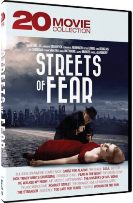Streets Of Fear - 20 Movie Collection (4 DVD)