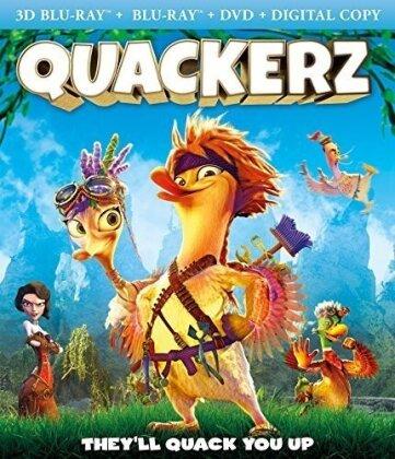 Quackerz (2016) (Blu-ray 3D (+2D) + DVD)