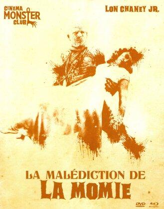 La malédiction de la Momie (1944) (Collection Cinema Monster Club, s/w, Blu-ray + DVD)