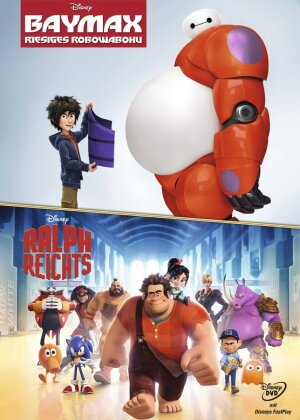 Baymax - Riesiges Robowabohu / Ralph reichts (Limited Edition, 2 DVDs)