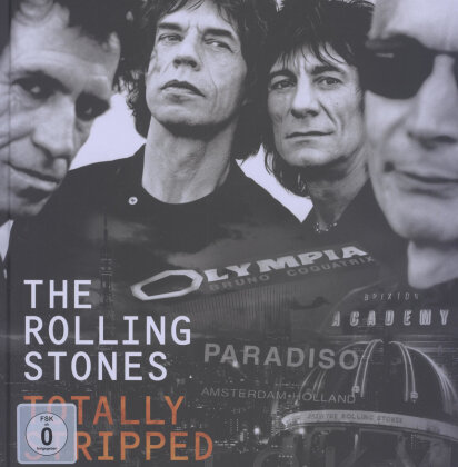Rolling Stones - Totally Stripped (4 Blu-rays + CD)