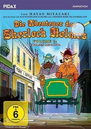 Die Abenteuer des Sherlock Holmes - Staffel 1.2 (1984) (Pidax Animation, 2 DVD)