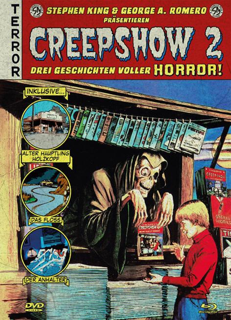Creepshow 2 (1987) (Cover B, Mediabook, Blu-ray + DVD)