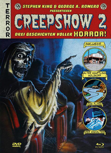 Creepshow 2 (1987) (Cover A, Mediabook, Blu-ray + DVD)