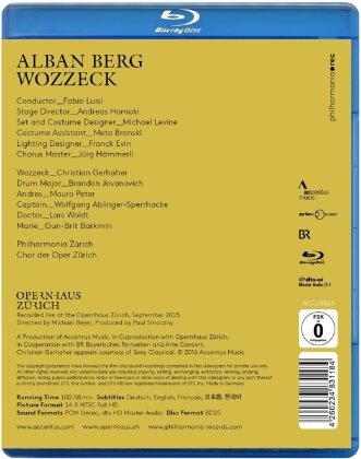 Opernhaus Zürich, Fabio Luisi, … - Berg - Wozzeck (Accentus Music)