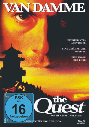 The Quest (1996) (Cover A, Limited Edition, Mediabook, Uncut, Blu-ray + DVD)