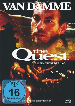 The Quest (1996) (Cover B, Limited Uncut Edition, Mediabook, Blu-ray + DVD)