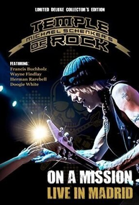 Michael Schenker - Temple of Rock - On a Mission - Live in Madrid (Deluxe Edition, Collector's Edition Limitata, Mediabook, 2 Blu-ray + 2 CD)