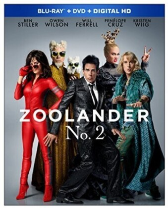 Zoolander 2 (2016) (The Magnum Edition, Blu-ray + DVD)