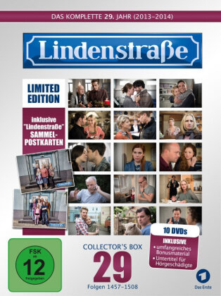 Lindenstrasse - Vol. 29 (Collector's Box, Limited Edition, 10 DVDs)