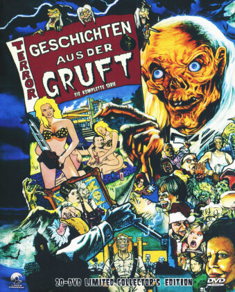 Geschichten aus der Gruft - Die komplette Serie (Collector's Edition, Limited Edition, 2 DVDs)