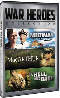 War Heroes Collection - Midway / MacArthur / To Hell and Back (2 DVDs)
