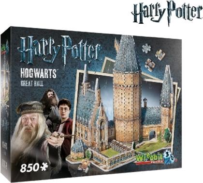 Harry Potter: Hogwarts grosse Halle 3D - Puzzle (850 Teile)