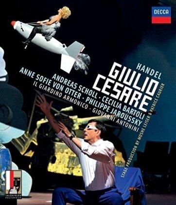 Il Giardino Armonico, Giovanni Antonini, … - Händel - Giulio Cesare (Decca, Salzburger Festspiele, 2 DVDs)