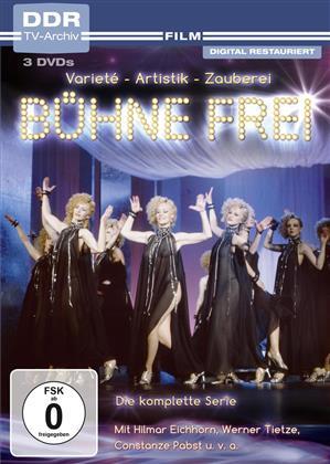Bühne frei! - Die komplette Serie (DDR TV-Archiv, 3 DVD)