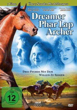 Dreamer / Phar Lap / Archer (3 DVDs)