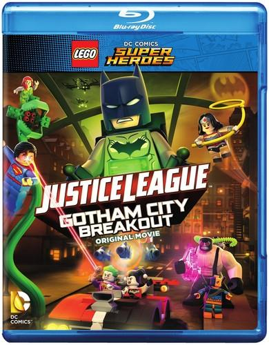 LEGO: DC Comics Super Heroes - Justice League: Gotham City Breakout (mit Figur, Gift Set, Limited Edition, Blu-ray + DVD)