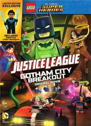 LEGO: DC Comics Super Heroes - Justice League: Gotham City Breakout (with Figurine, Gift Set, Limited Edition)