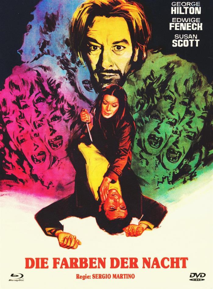 Die Farben der Nacht (1972) (Nummeriert, Cover A, Limited Edition, Mediabook, Uncut, Blu-ray + DVD)