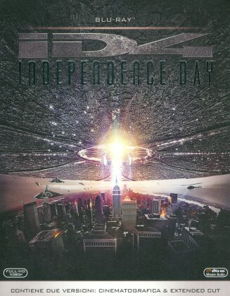 Independence Day (1996) (Extended Cut, Kinoversion, Remastered, 2 Blu-rays)