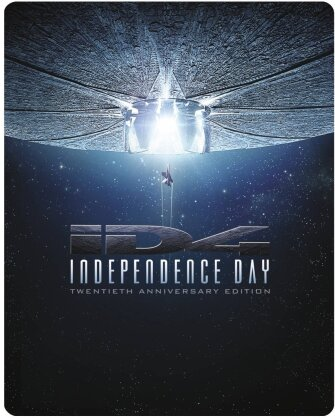 Independence Day (1996) (Extended Cut, Kinoversion, 20th Anniversary Limited Edition, Remastered, Steelbook, 2 Blu-rays)