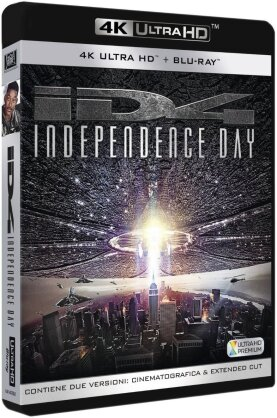 Independence Day (1996) (Versione Rimasterizzata, 4K Ultra HD + 2 Blu-ray)