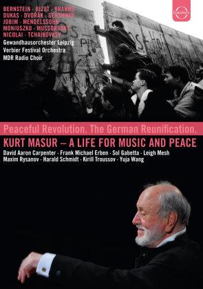 Gewandhausorchester Leipzig, Verbier Festival Orchestra, … - A Life for Music and Peace / Ein Leben für die Musik und den Frieden (Euro Arts, 5 DVDs)