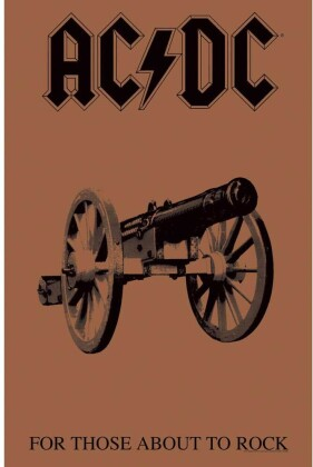 AC/DC - For Those About To Rock Textile Poster