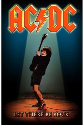 AC/DC Textile Poster - Let There Be Rock