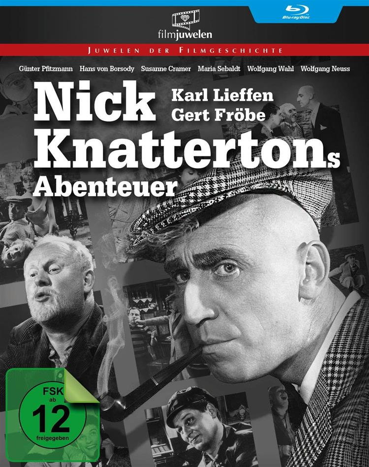 Nick Knattertons Abenteuer (1959) (Filmjuwelen, s/w)