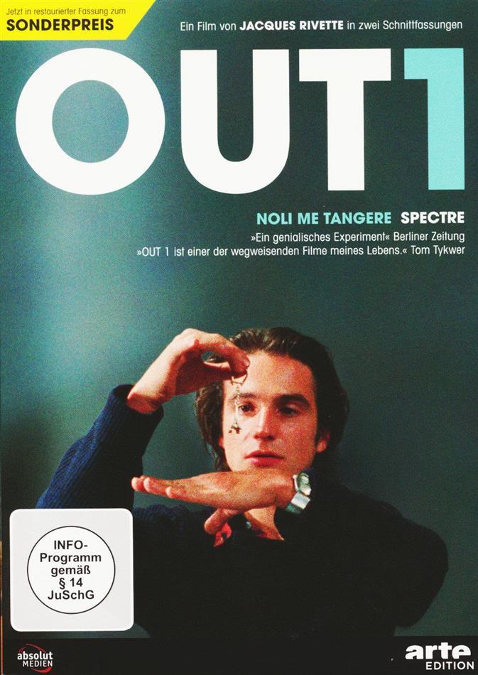 Out 1 - Noli me tangere / Spectre (1971) (Arte Edition, Restaurierte Fassung, 5 DVDs)
