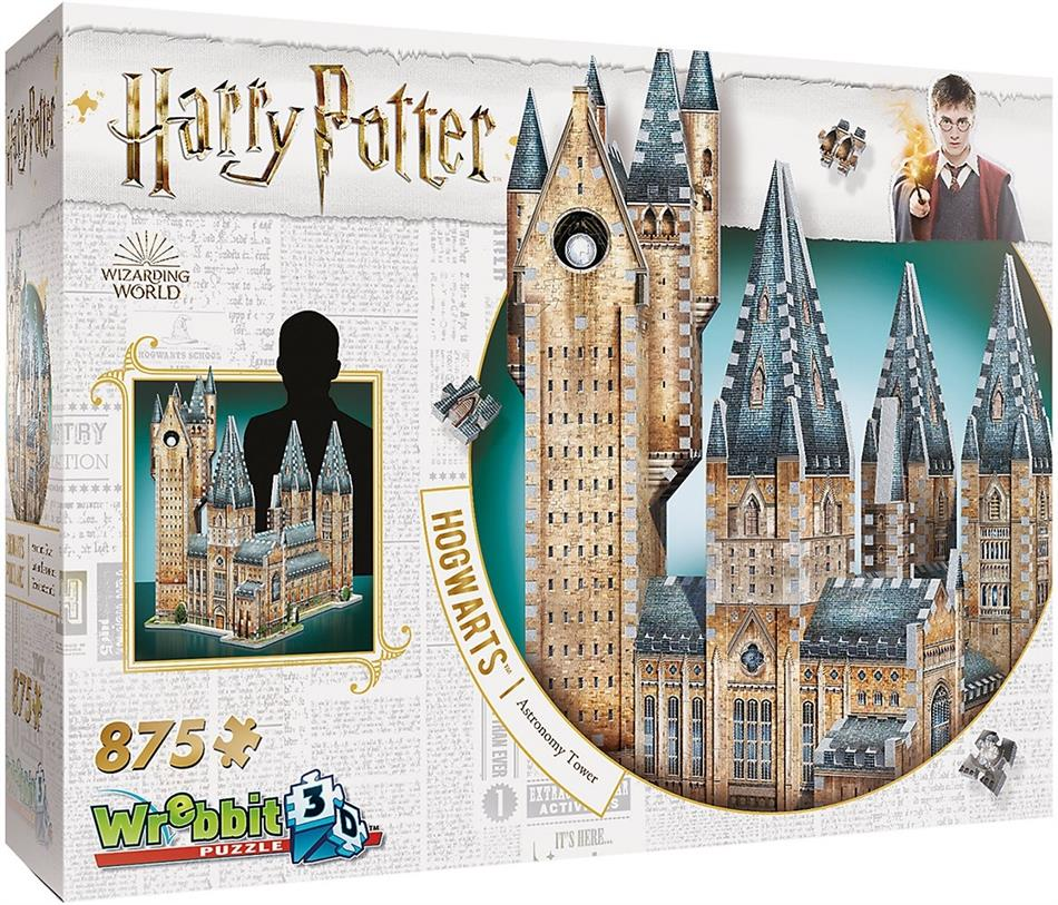 Harry Potter: Hogwarts Astronomy Tower - 875 Teile 3D Puzzle