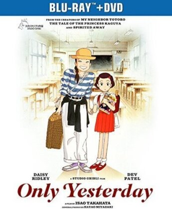 Only Yesterday (1991) (Blu-ray + DVD)