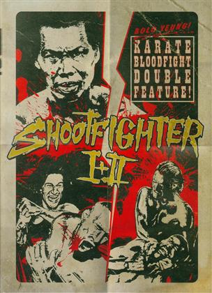 Shootfighter 1 + 2 (Double Feature, Limited Edition, Uncut, Unrated, Mediabook, 2 Blu-rays + 2 DVDs)