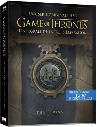 Game of Thrones - Saison 3 (avec Magnet Collector, Limited Edition, Steelbook, 5 Blu-rays)