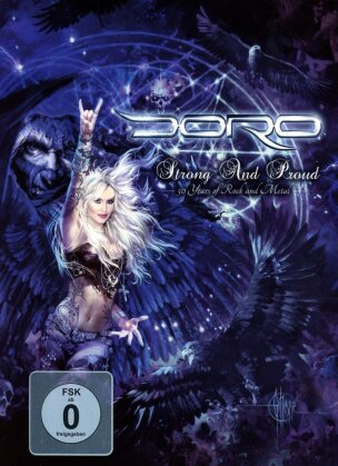 Doro - Strong And Proud - 30 Years of Rock and Metal (Mediabook, 3 DVDs)