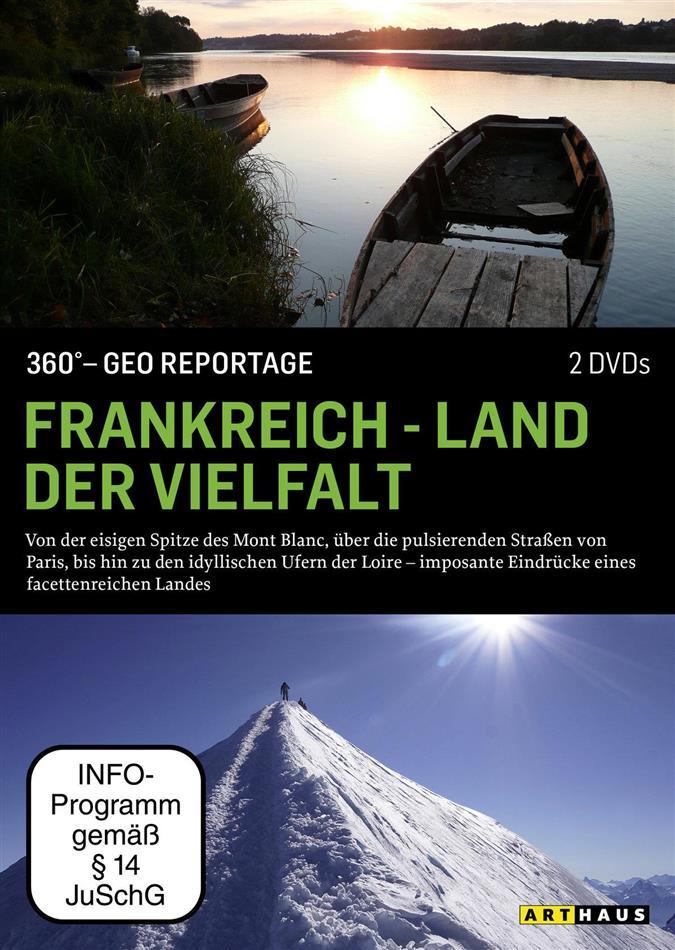 Frankreich - Land der Vielfalt - 360° - GEO Reportage (Arthaus, 2 DVDs)