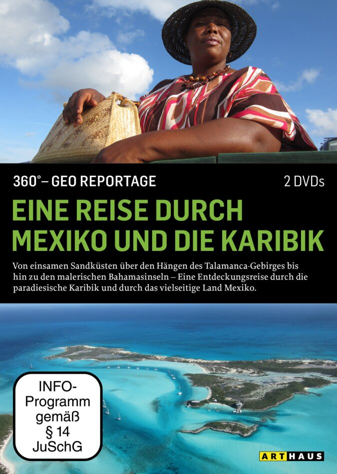 Eine Reise durch Mexiko und die Karibik - 360° - GEO Reportage (Arthaus, 2 DVD)