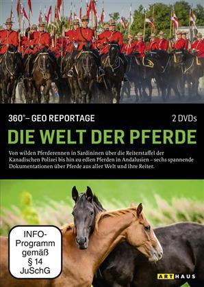 Die Welt der Pferde - 360° - GEO Reportage (Arthaus, 2 DVD)