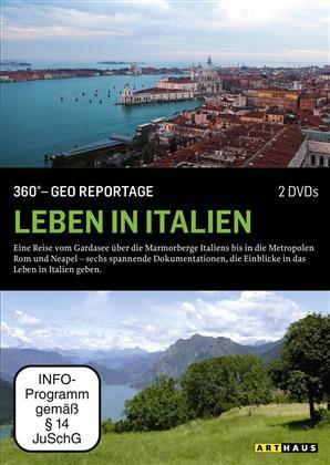 Leben in Italien - 360° - GEO Reportage (Arthaus, 2 DVD)