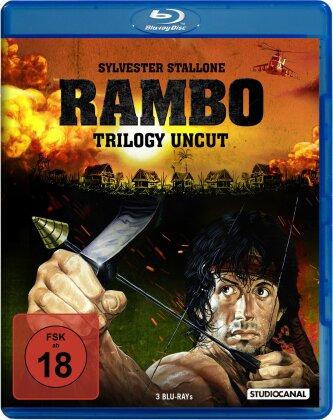 Rambo Trilogy (Uncut, 3 Blu-ray)
