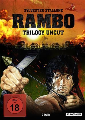 Rambo Trilogy (Uncut, 3 DVD)