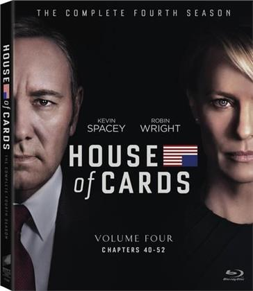 House of Cards - Season 4 (4 Blu-rays)