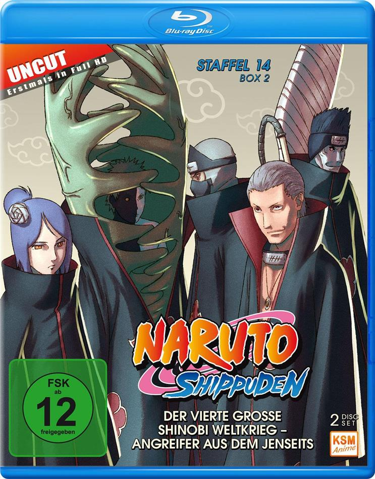 Naruto Shippuden - Staffel 14 Box 2 (Uncut, 2 Blu-ray)