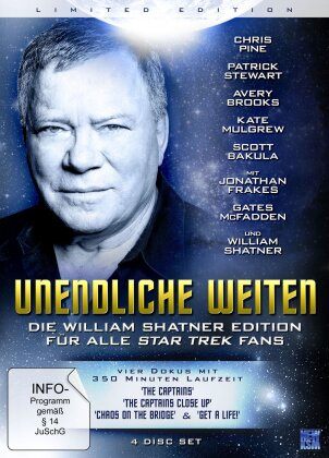 Unendliche Weiten (Die William Shatner Edition, Limited Edition, 4 DVDs)