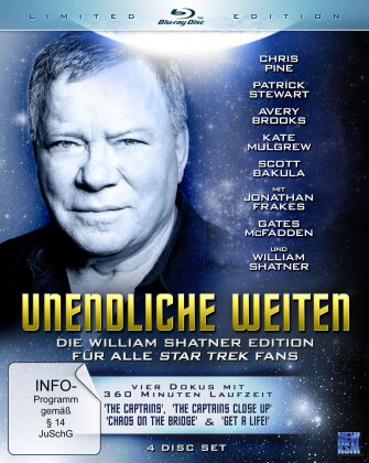 Unendliche Weiten (Die William Shatner Edition, Limited Edition, 4 Blu-rays)